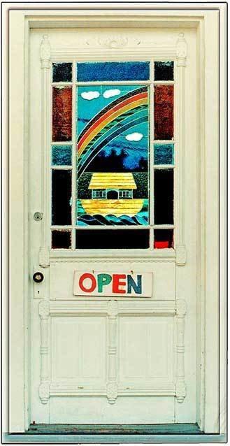 NOAH'S DOOR * 3'' x 11''