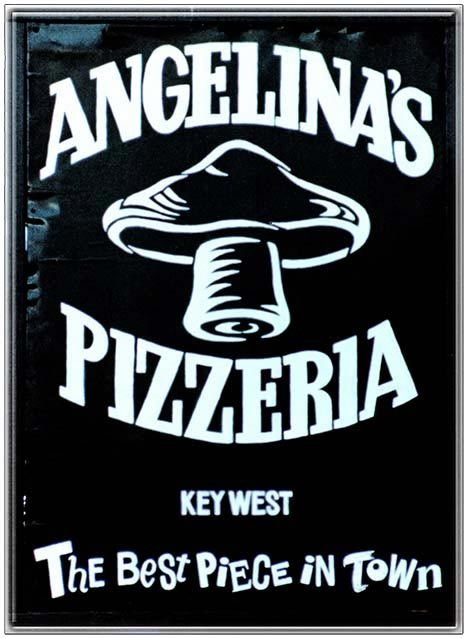 ANGELINA'S PIZZA * 8'' x 11'' 10313