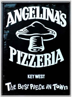 ANGELINA'S PIZZA * 8'' x 11''