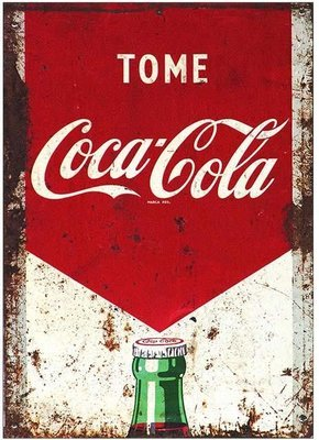 COCA COLA TOME * 7'' x 11''