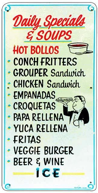 DAILY SPECIALS * 5'' x 11''