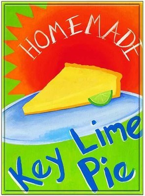 KEY LIME PIE 1 * 7'' x 11''