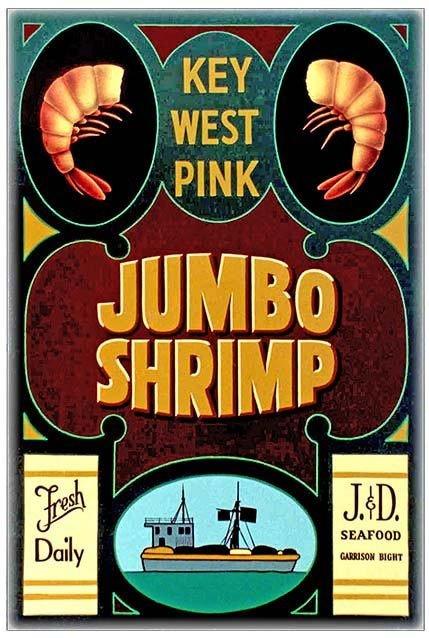 JUMBO SHRIMP * 7'' x 11'' 10342