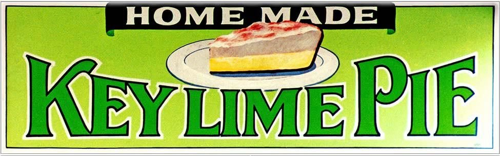KEY LIME PIE 2 * 5'' x 16'' 10344
