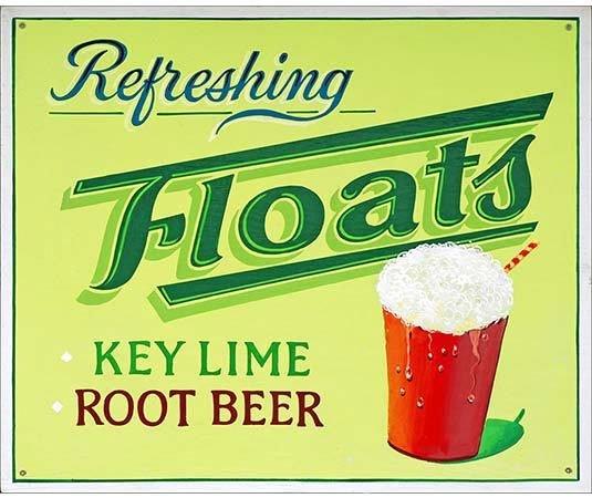 REFRESHING FLOATS * 8'' x 10''