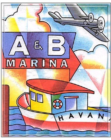 A&B MARINA  * 8'' x 11'' 10360
