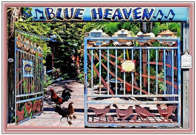 BLUE HEAVEN ENTRANCE * 7'' x 11'' 10368