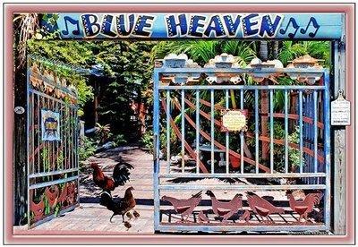 BLUE HEAVEN ENTRANCE * 7'' x 11''