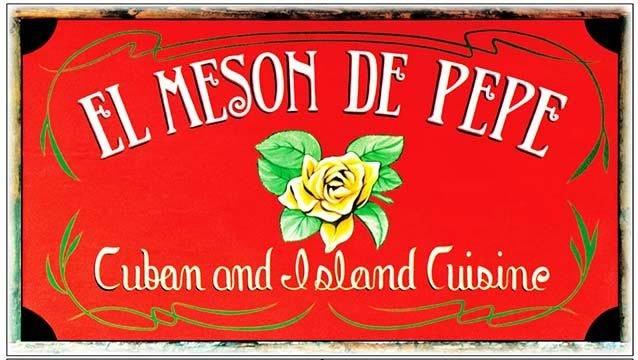 EL MESON DE PEPE * 6'' x 11''