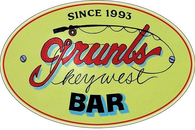 GRUNT'S BAR * 7'' x 11'' 10384