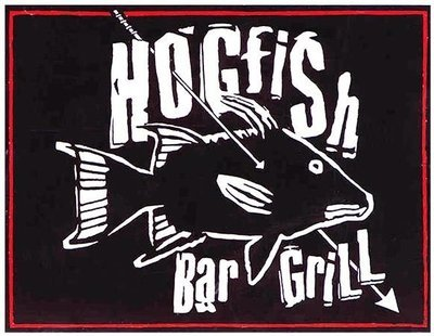 HOGFISH BLACK & WHITE * 8'' x 11''