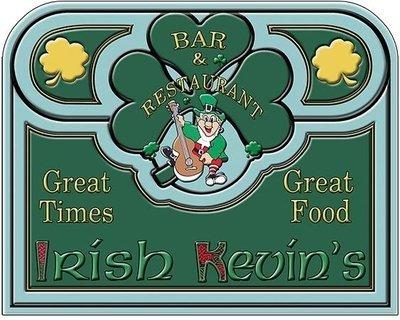 IRISH KEVIN'S GOOD FOOD * 8'' x 11''