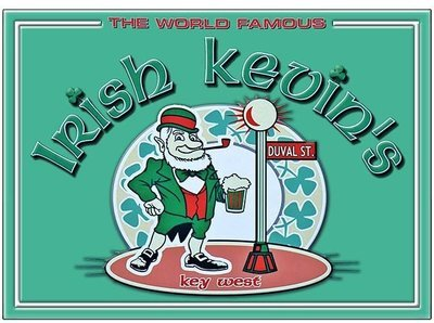 IRISH KEVIN'S WORLD FAMOUS * 8'' x 11''
