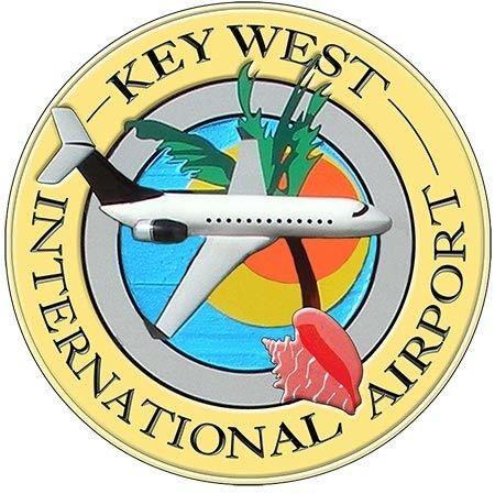 KEY WEST AIRPORT * 8'' x 8''