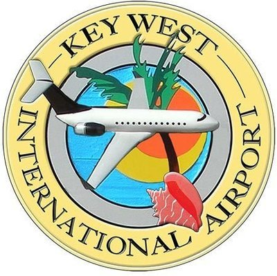 KEY WEST AIRPORT * 8'' x 8''
