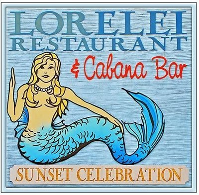 LORELEI CABANA BAR * 8'' x 8''