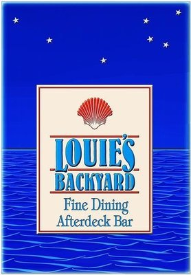 LOUIE'S BACKYARD * 6'' x 11''
