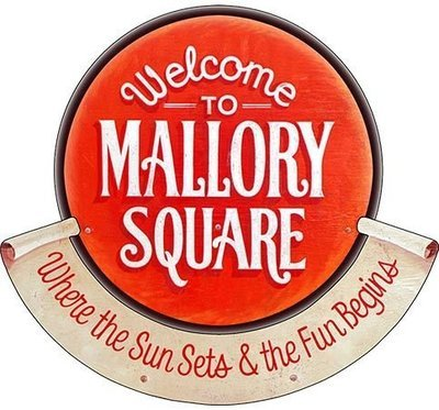 MALLORY SQUARE * 8'' x 8''