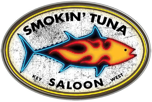 SMOKIN TUNA * 7'' x 11'' 10425