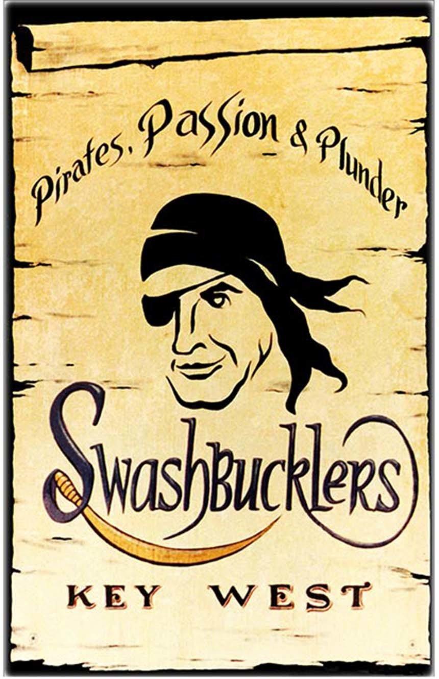 SWASHBUCKLER'S  * 6'' x 11'' 10427