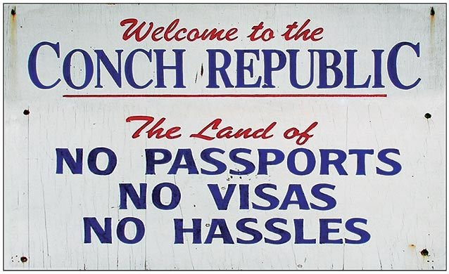 CONCH REP NO PASSPORTS * 6'' x 11'' 10429