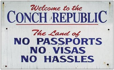 CONCH REP NO PASSPORTS * 6'' x 11''