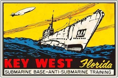 KEY WEST SUB BASE * 6'' x 11''