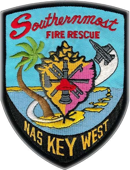 SOUTHERNMOST FIRE RESCUE * 8'' x 11'' 10444