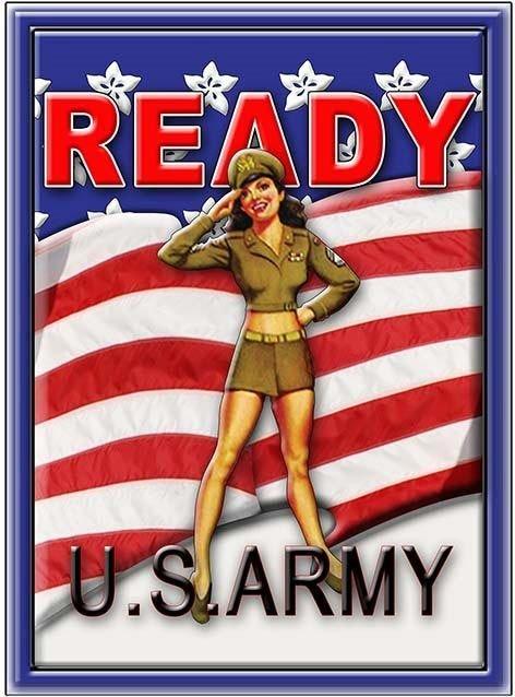 ARMY READY * 7'' x 11'' 10445