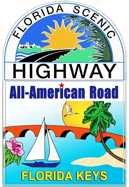 ALL AMERICAN ROAD FLORIDA SCENIC * 7'' x 11'' 10474