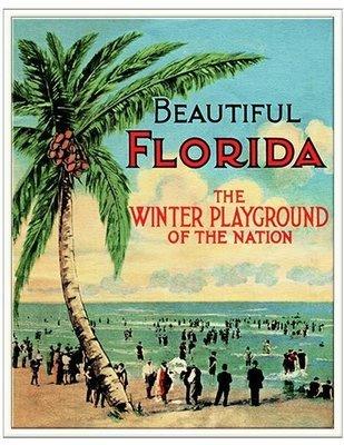 BEAUTIFUL FLORIDA * 8'' x 11''
