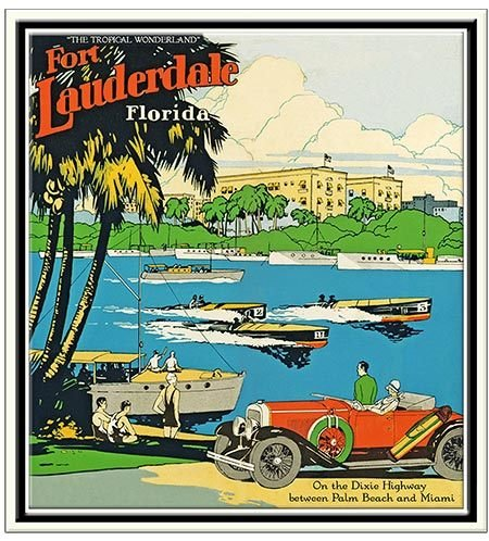 FT LAUDERDALE BOAT RACES * 8'' x 11'' 10492