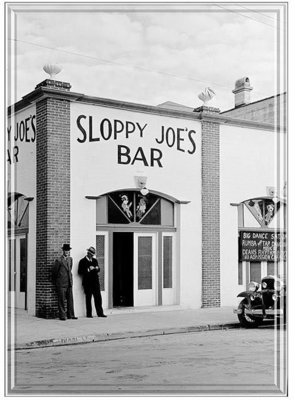 SLOPPY JOE'S VINTAGE * 7'' x 11''