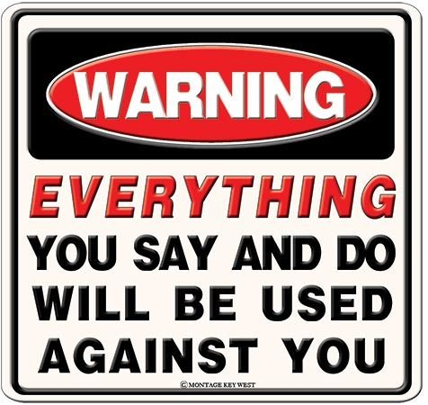 EVERYTHING YOU SAY AND DO * 8'' x 8''