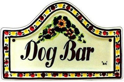 DOG BAR * 7'' x 11''