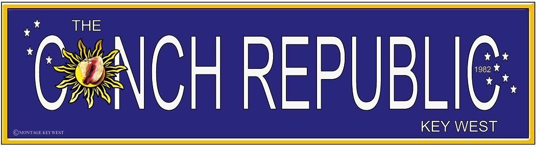 CONCH REPUBLIC LONG * 3'' x 16'' 10548