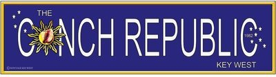 CONCH REPUBLIC LONG * 3'' x 16''