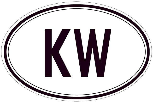 KW BLACK AND WHITE * 7'' x 11'' 10551