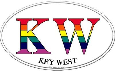 KW RAINBOW * 7'' x 11''