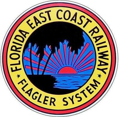 FLORIDA EAST COAST RAILWAY SYSTEM * 8'' x 8''