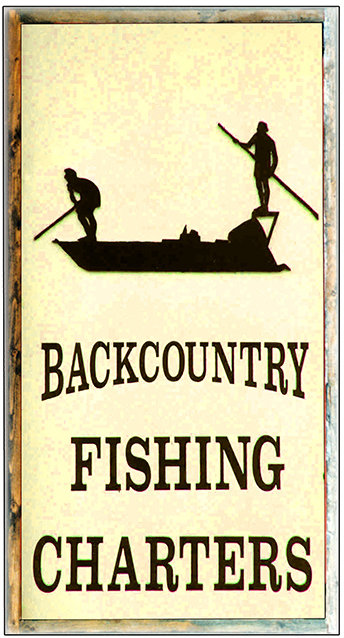 BACKCOUNTRY FISHING * 5'' x 11'' 10590
