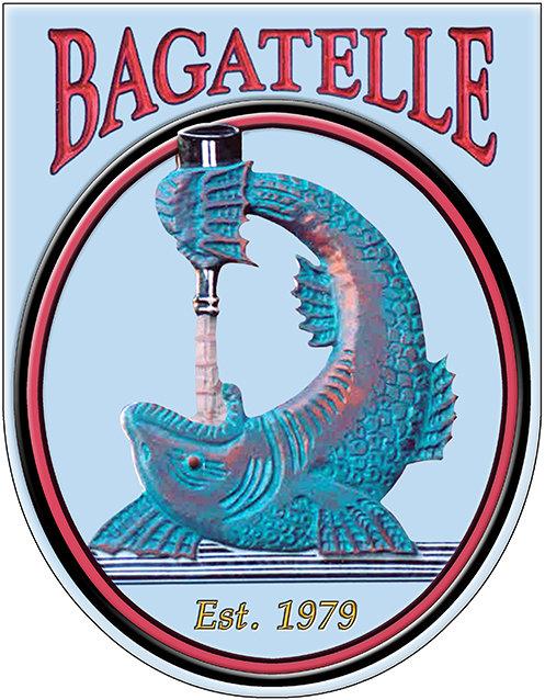 BAGATELLE FISH * 8'' x 11'' 10591