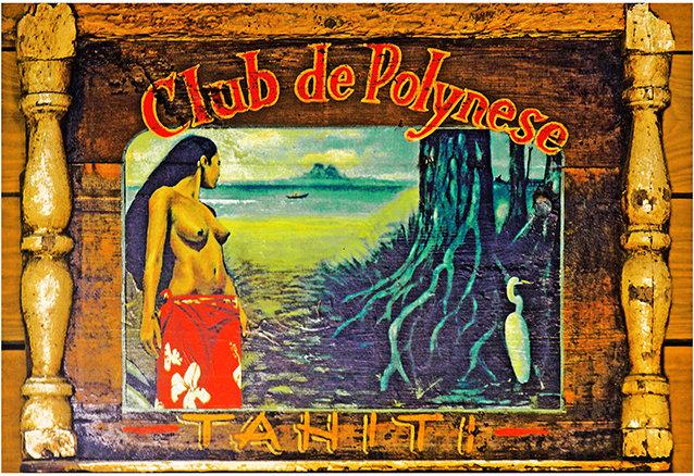 CLUB DE POLYNESE * 7'' x 11'' 10605