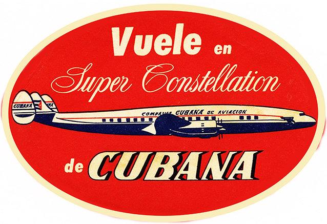 CUBANA AIRLINES * 8'' x 11'' 10607
