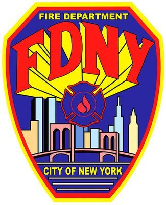 NEW YORK FIRE DEPT * 8'' x 11''
