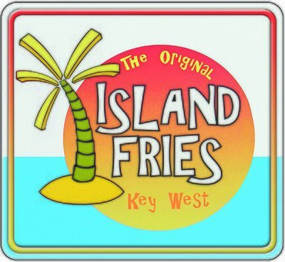KEY WEST ISLAND FRIES * 8'' x 8''