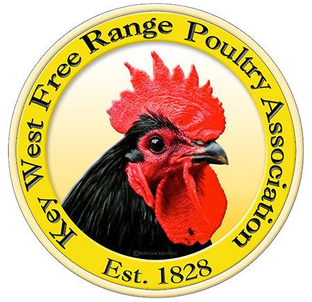 KEY WEST FREE RANGE CHICKENS * 8'' x 8''