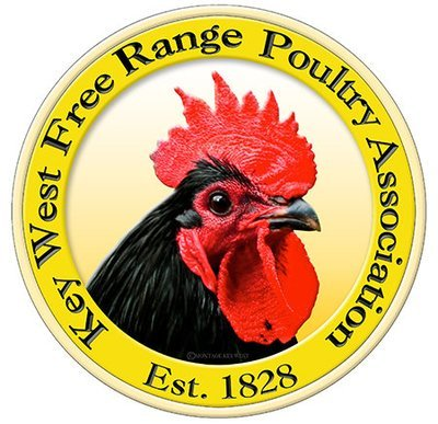 KEY WEST FREE RANGE CHICKENS * 8'' x 8''