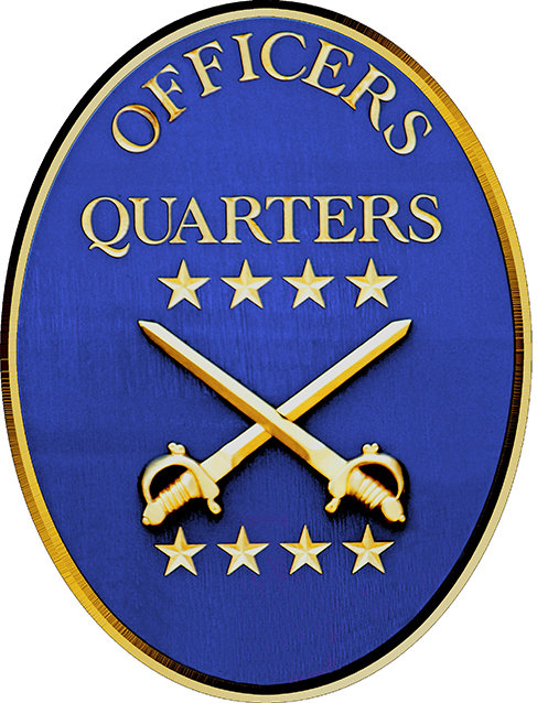 OFFICERS QUARTERS * 6'' x 11'' 10642
