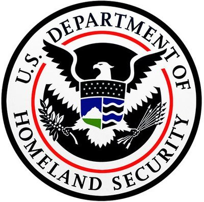 HOMELAND SECURITY SEAL * 8'' x 8''